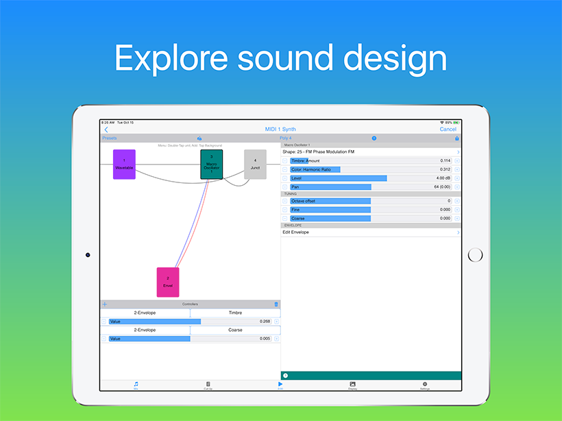 Wotja: Explore sound design
