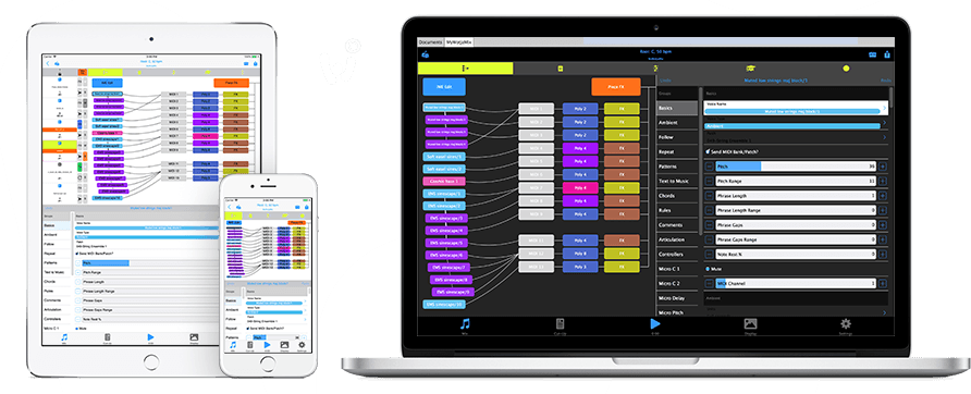 Wotja for mobile and desktop devices